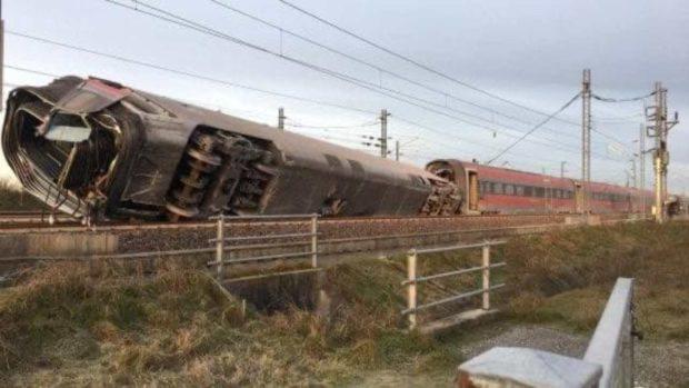 Treno deragliato, Codacons: Incriminare responsabili lavori manutenzione