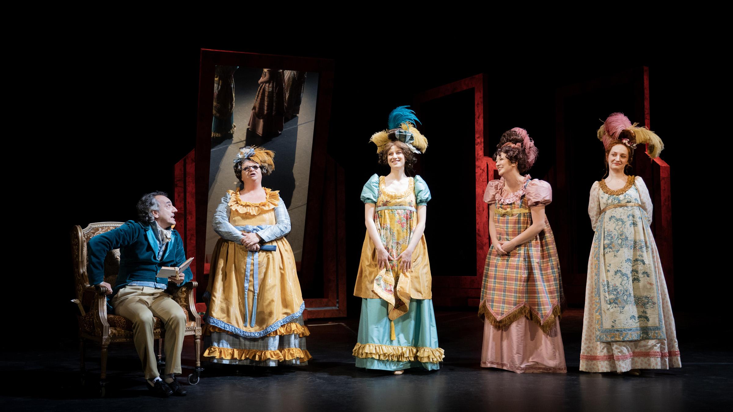 Napoli: al Teatro Mercadante 'Orgoglio e pregiudizio'