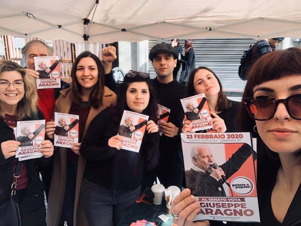 Napoli suppletive: Prof Aragno(Potere al Popolo) incontra cittadini quartieri Barra e Poggioreale