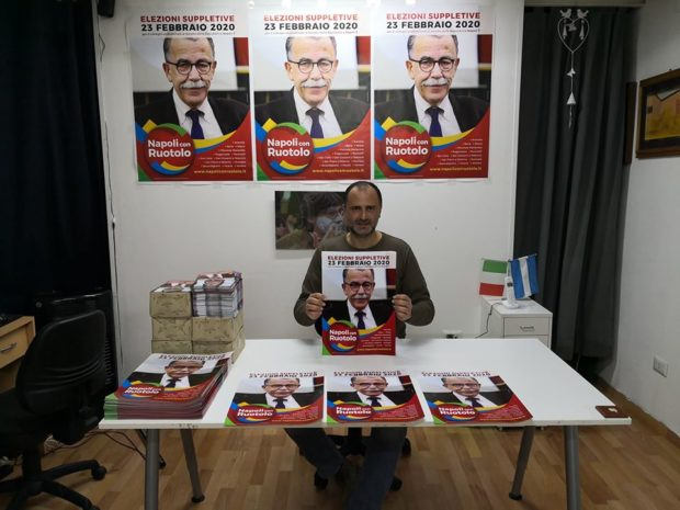 De Magistris sistema un altro dirigente del suo partito a Città Metropolitana