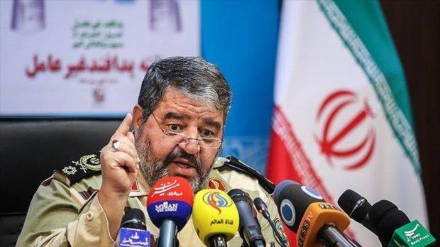 """Generale iraniano: """"Il Coronavirus è un'arma biologica degli Stati Uniti"""""""