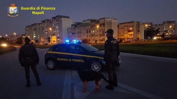 Coronavirus: controlli guardia di finanza in area nord  di Napoli, 47 sanzioni