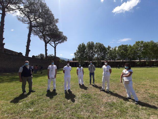 Pompei scavi riapre dopo il lockdown, la lezione di storia che resiste al coronavirus (Video)