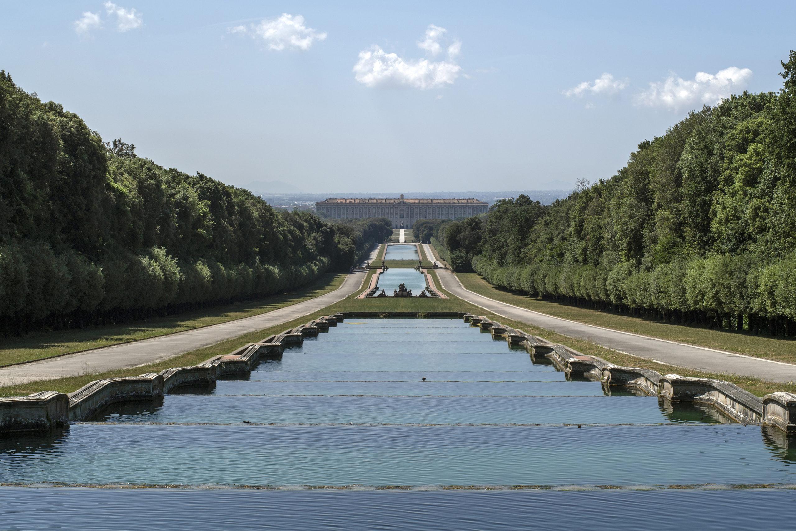 Caserta, riapre la Reggia e il Parco Reale