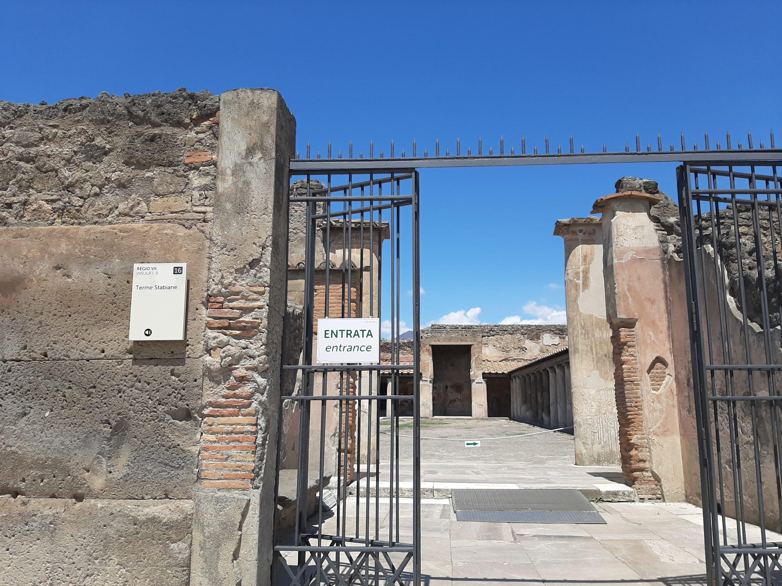 Pompei, da domani riapre il sito archeologico