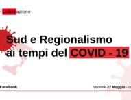 Sud e regionalismo ai tempi del Covid, live social con Provenzano