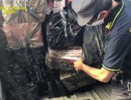 Bacoli, sequestrati sette quintali di sigarette di contrabbando. Arrestate due persone
