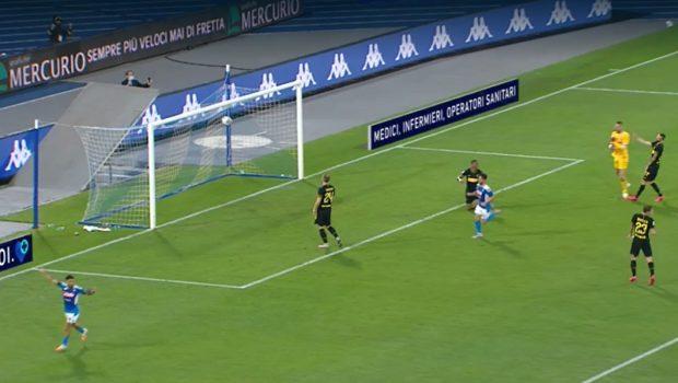 Mertens record con l'Inter, Napoli in finale di Coppa Italia