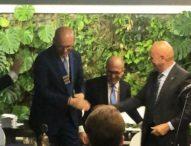 Rotary club Porte di Napoli, Di Ronza presidente
