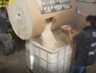 Blitz finanzieri, sequestrate a Salerno 14 tonnellate di droga dell'Isis