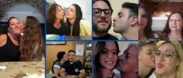 Giornata del bacio, la scoperta in era Covid