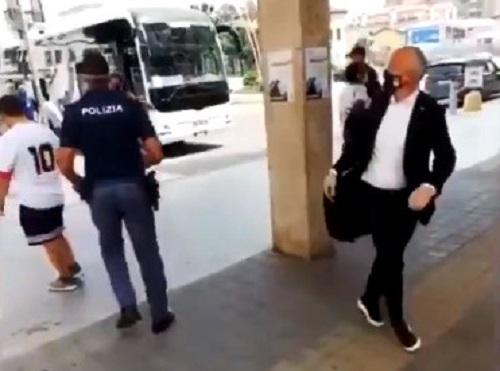 """""""Terrone del c…"""". Insulta tifoso del Napoli, bufera su dirigente dell'Atalanta"""