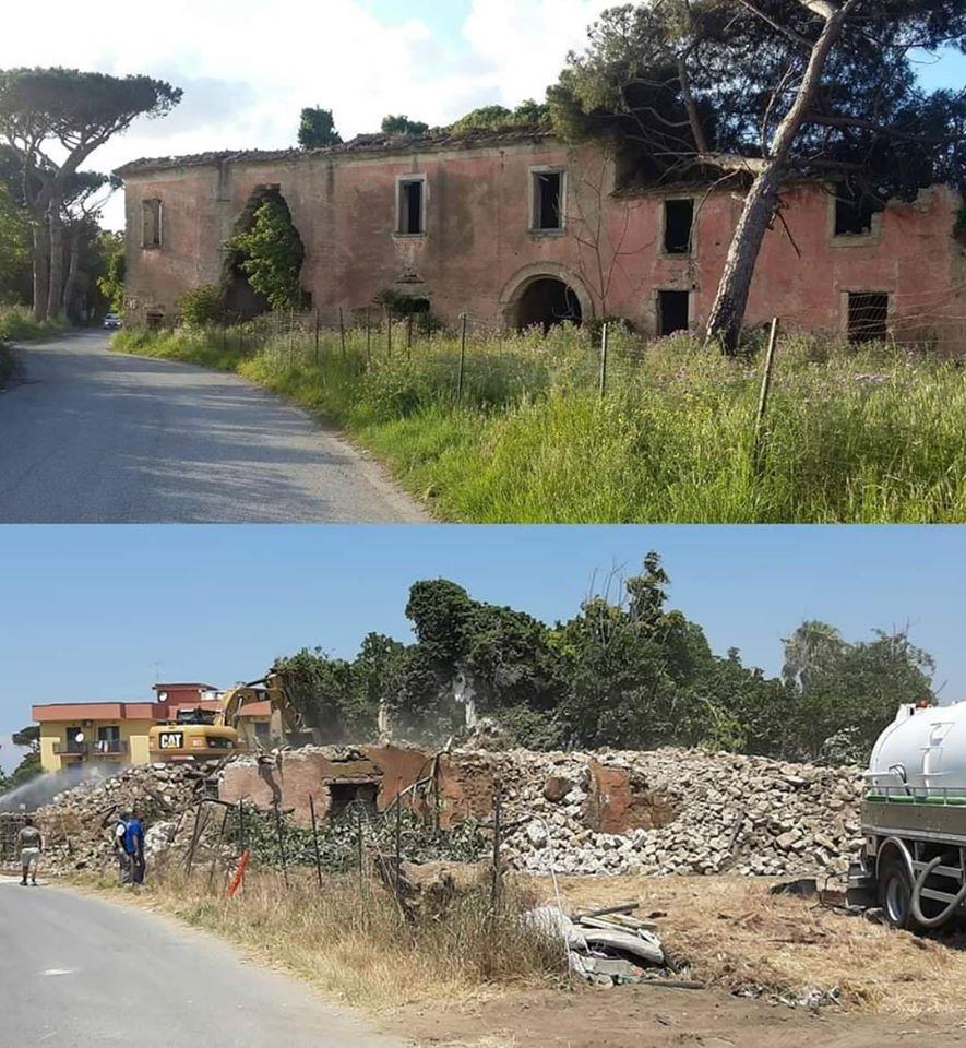 Giugliano in Campania, demolito il Villaggio Zaccaria. Cancellata la Storia