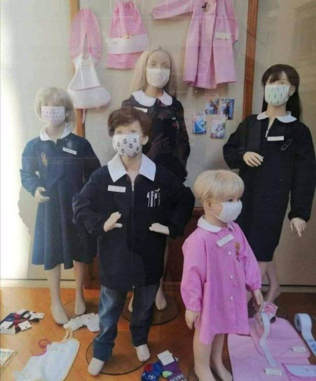 Coronavirus, la mascherina  per sei ore in classe è una tortura. Insorgono genitori e medici