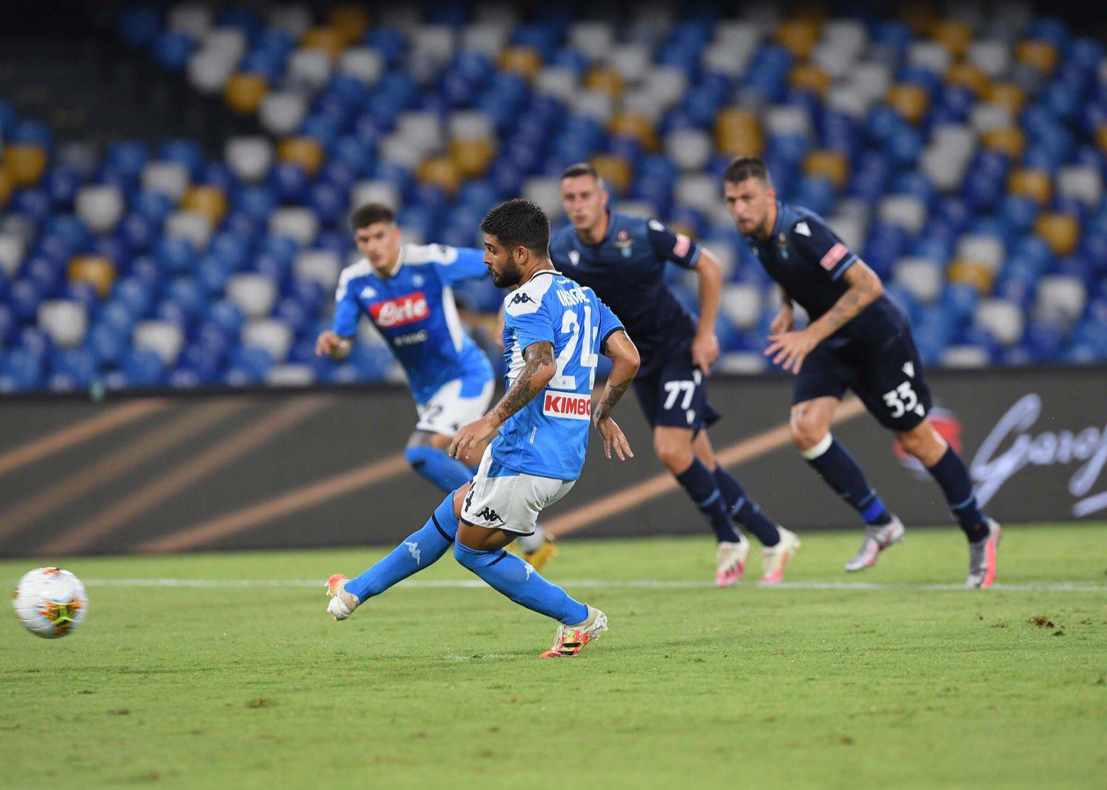 Il Napoli chiude col tris alla Lazio, ma è ansia Insigne