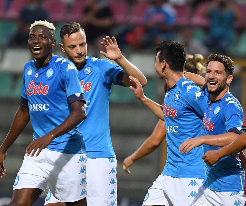 Napoli, 21 gol e subito Osimhen show