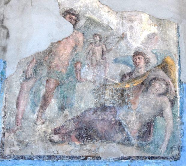 """Pompei, Parco Archeologico: """"Scena mitica.Incontro con i mondi classici"""""""