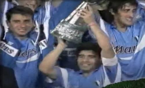 """Supercoppa '90, amarcord Maradona: """"Peccato il Napoli non ricordi"""""""
