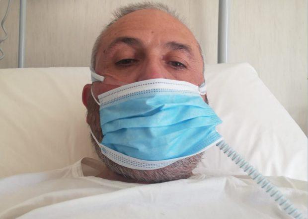 """Paziente Covid dall'ospedale: """"I politici solo nei talk show, niente risposte concrete"""""""