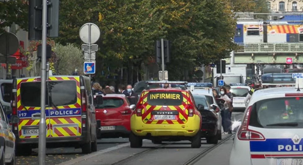 Attacco terrorista alla Francia, 3 vittime in cattedrale