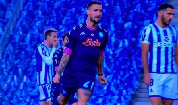 Politano gol, il Napoli manda ko la Real Sociedad