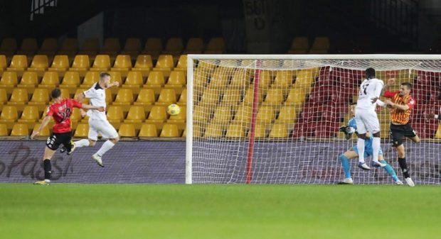 Il Benevento crolla in casa con lo Spezia