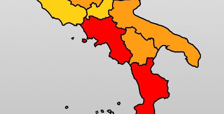 Covid, Campania ufficialmente in zona rossa: ecco le restrizioni