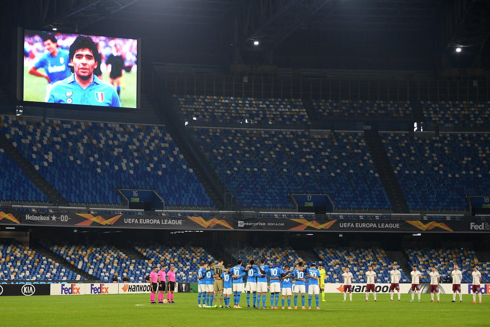 Il Napoli regola il Rijeka con Diego nel cuore