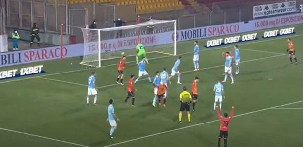Il Benevento blocca la Lazio