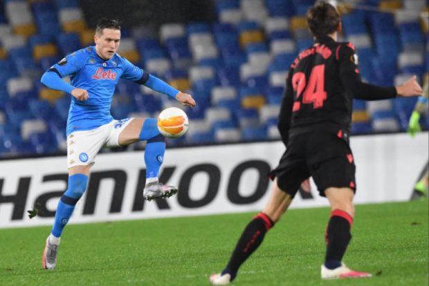 Europa League, Napoli da primo ai 16esimi: 1-1 con la Real Sociedad