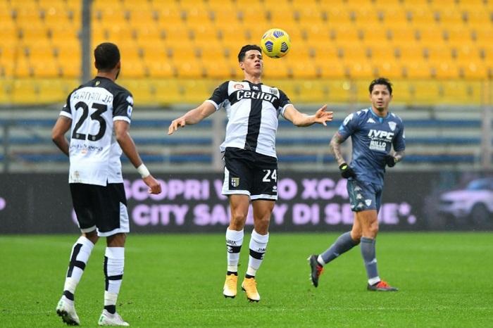 Benevento, reti bianche a Parma