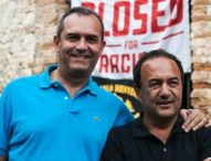 Mimmo Lucano a fianco di de Magistris in Calabria