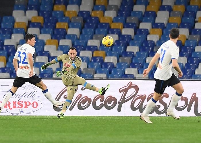 Coppa Italia, Napoli-Atalanta a reti bianche