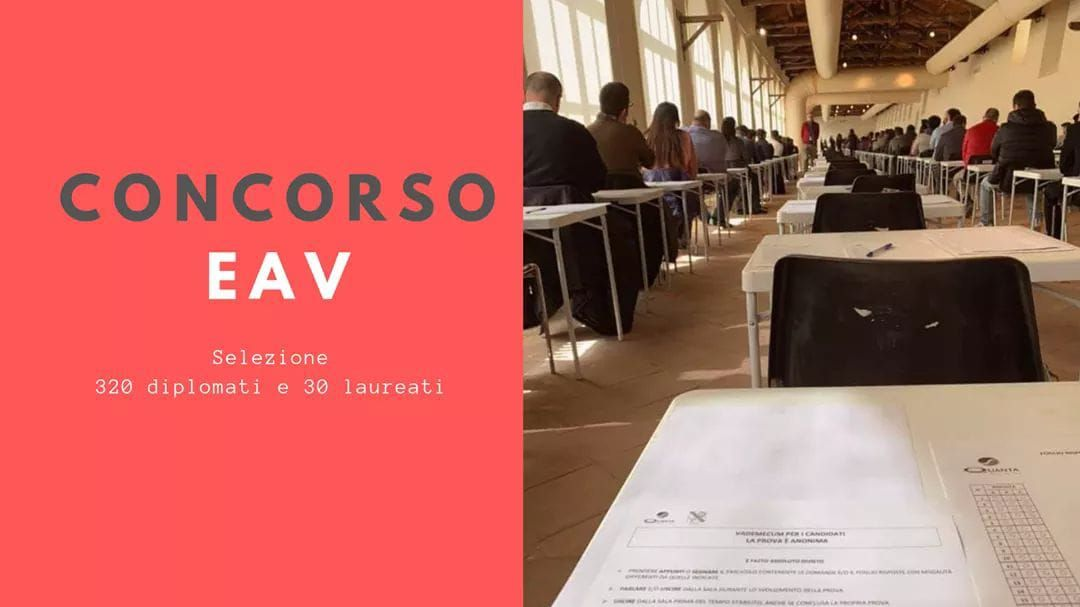 """Campania, i 350 vincitori concorso Eav: """"Da due anni chiediamo chiarezza"""""""