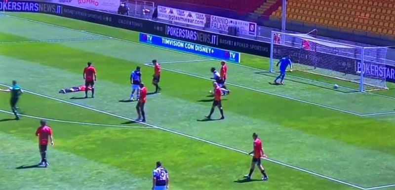 Ko al Vigorito, Benevento inguaiato dall'Udinese