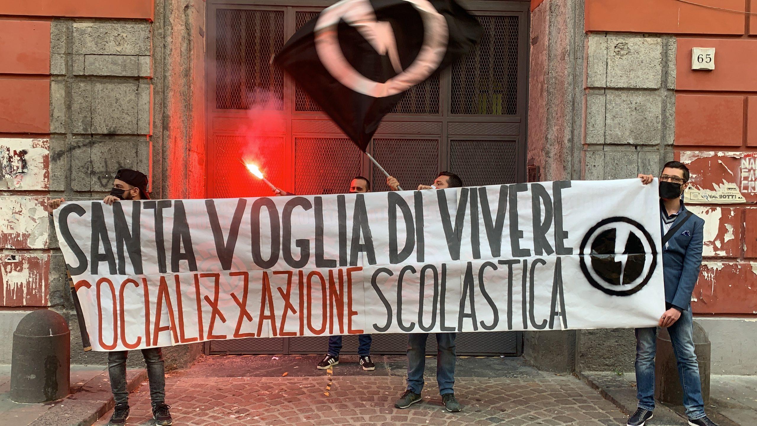 """Blocco studentesco: """"Socializzazione scolastica, ora!"""""""