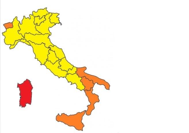 La Campania va in zona gialla, ecco le nuove regole
