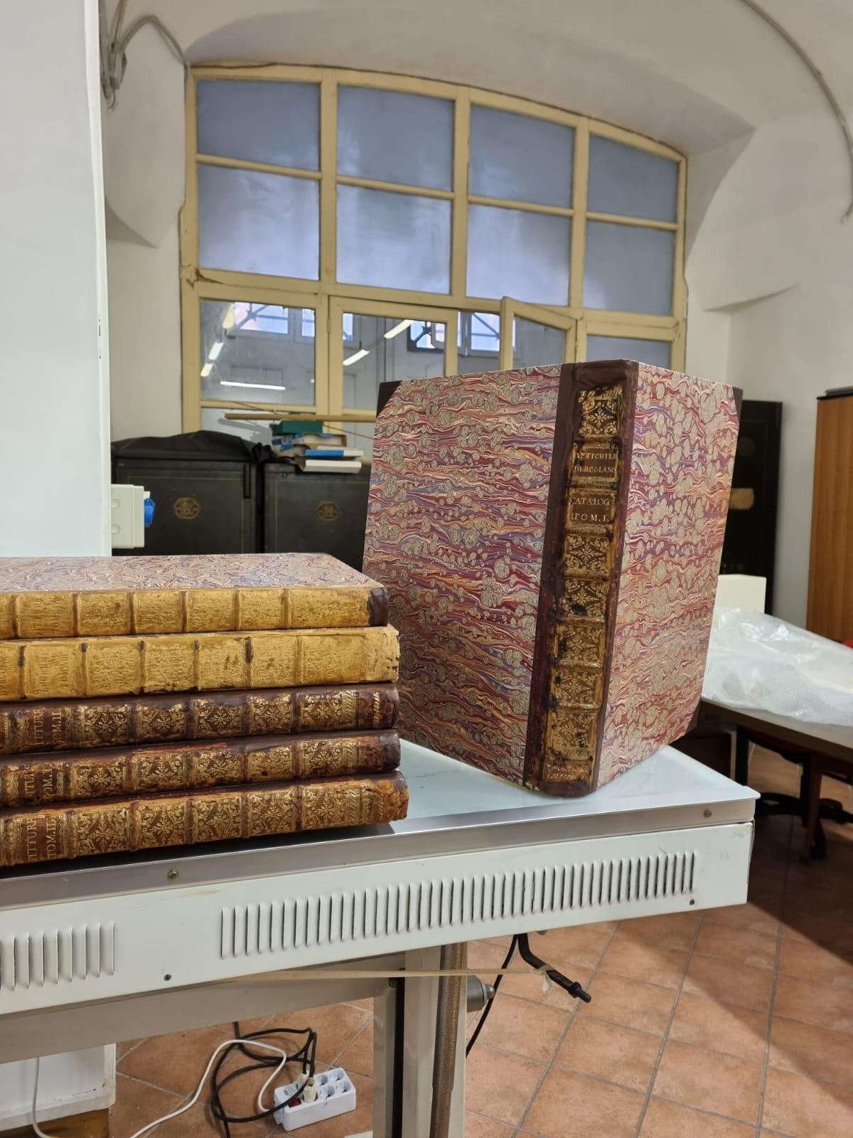 Cultura, Parco Archeologico di Ercolano: rientrano dopo il restauro le opere di Carlo di Borbone