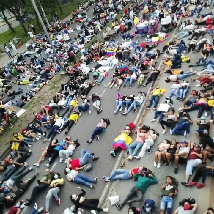 Colombia, la protesta di un intero popolo