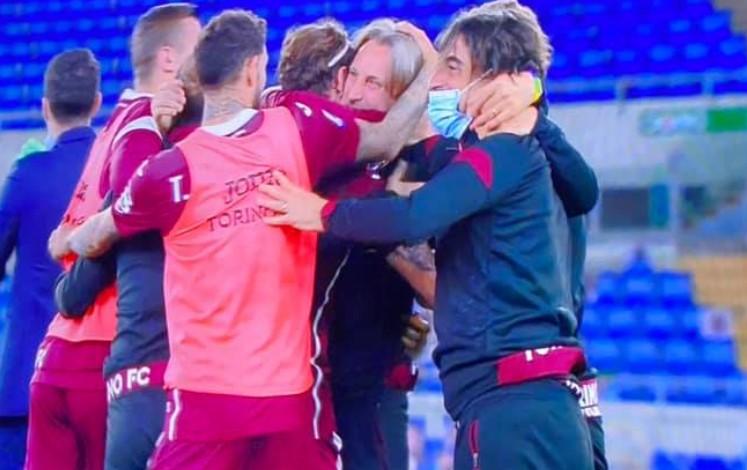 Bunker Torino con la Lazio, Benevento retrocesso in B