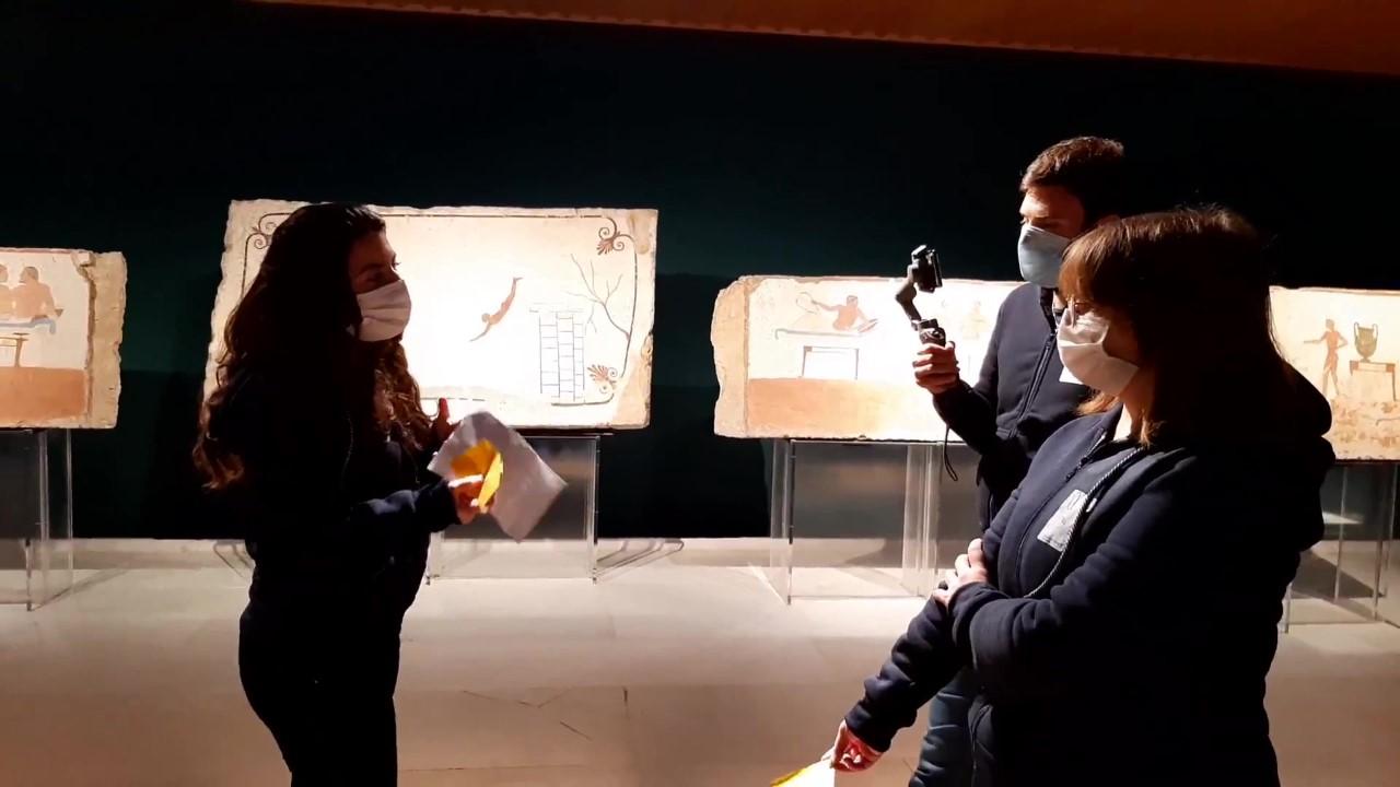 Scavi di Paestum, presentato progetto per disabili