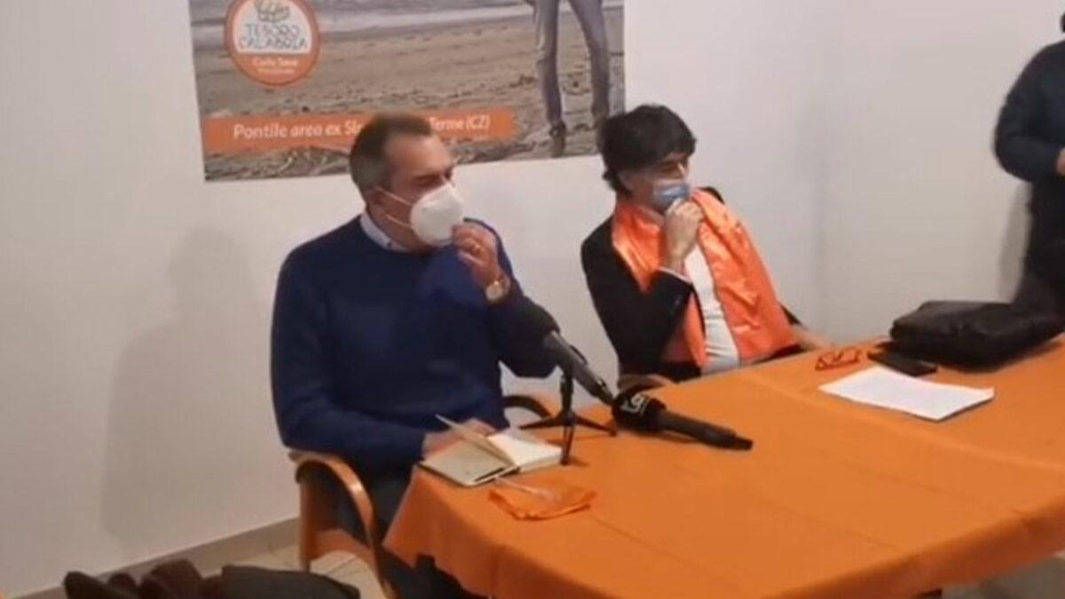 """Calabria, Tansi rompe con de Magistris: """"Mi ha deluso, il polo civico non esiste più"""""""