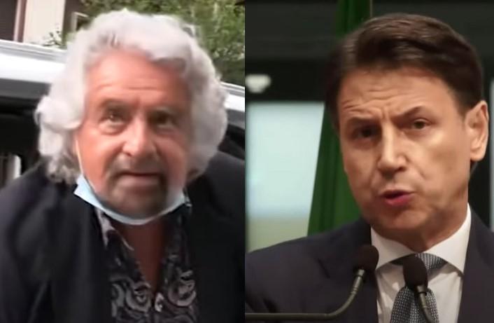 """M5S, Grillo liquida Conte: """"Non ha visione politica"""""""