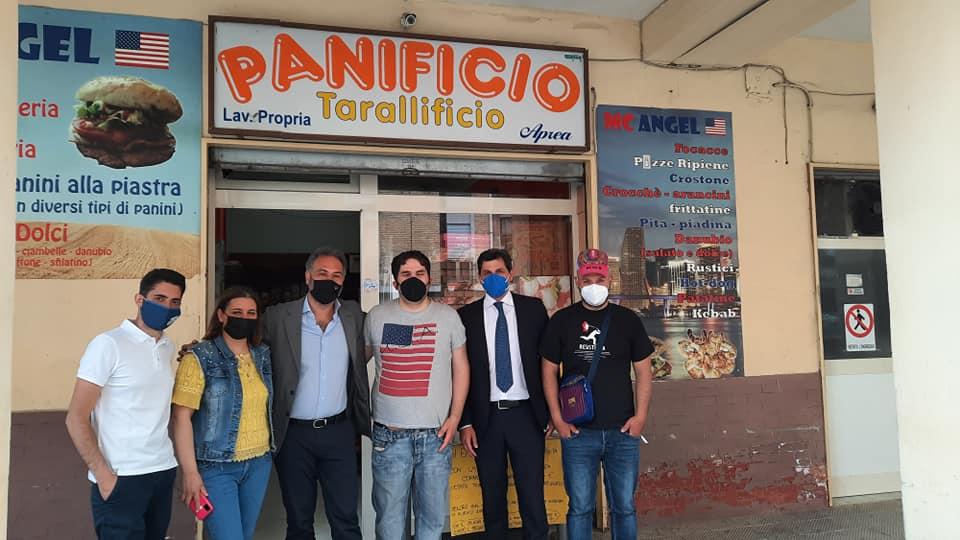 Napoli, Maresca a Scampia per sostenere giovani che hanno detto No agli estorsori