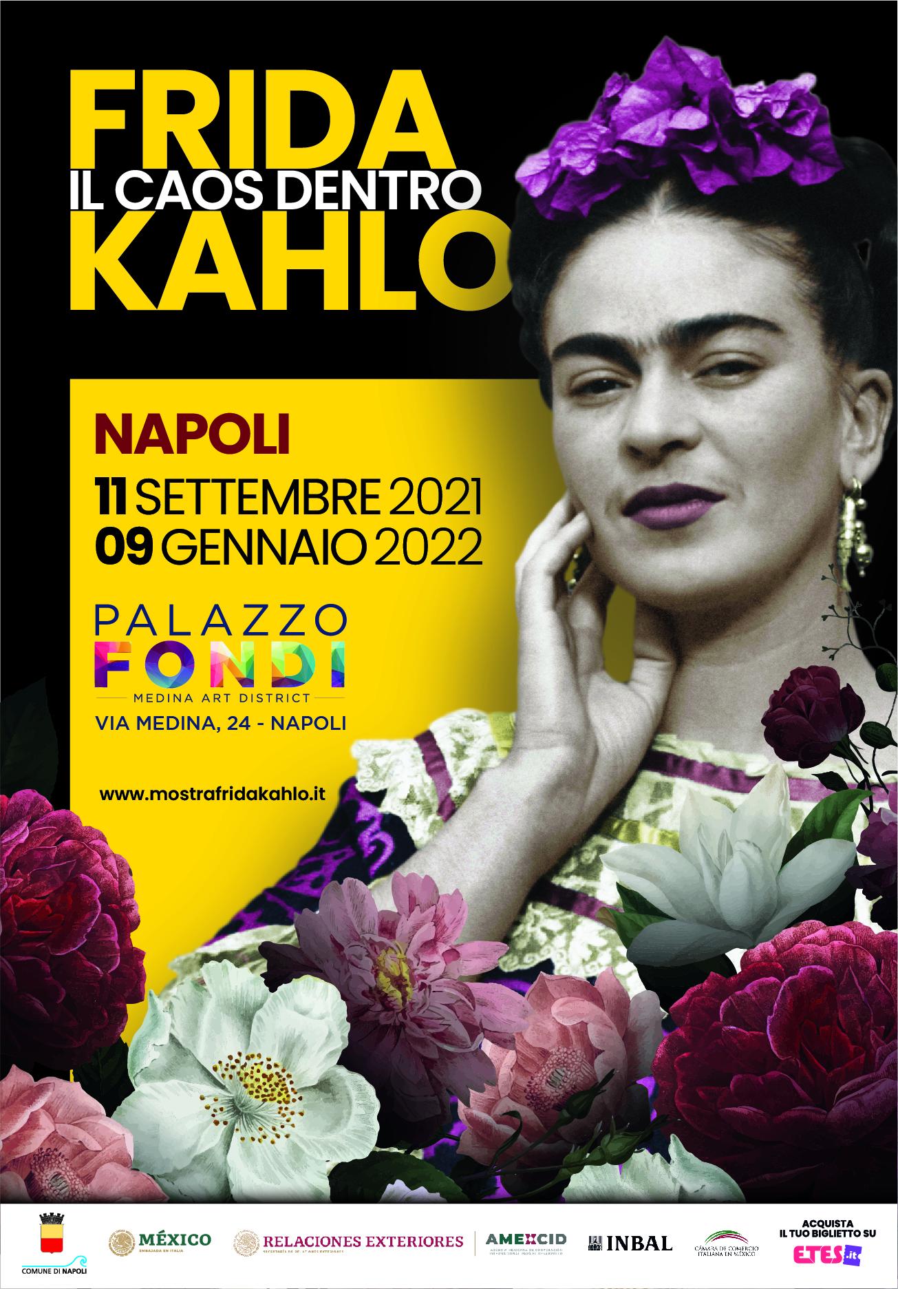 Napoli accoglie Frida