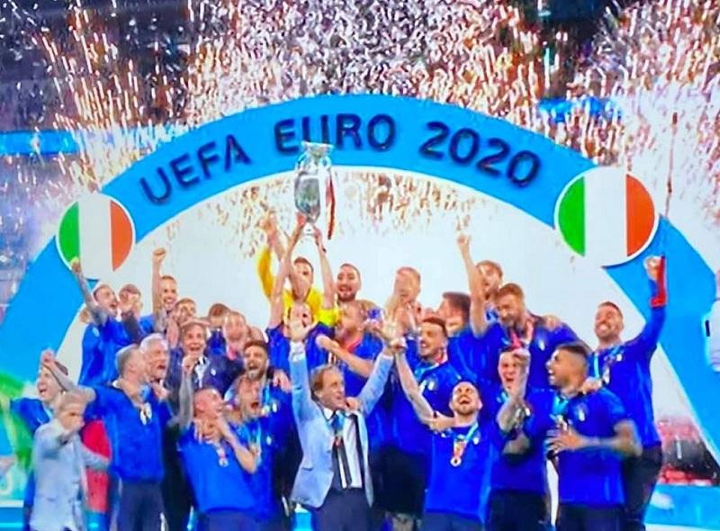 Trionfo ai rigori sull'Inghilterra, Italia campione d'Europa!
