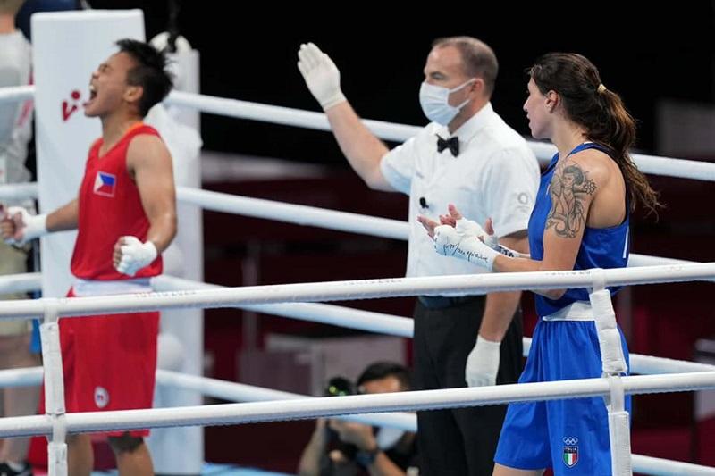 Boxe Olimpiadi, Irma Testa medaglia di bronzo