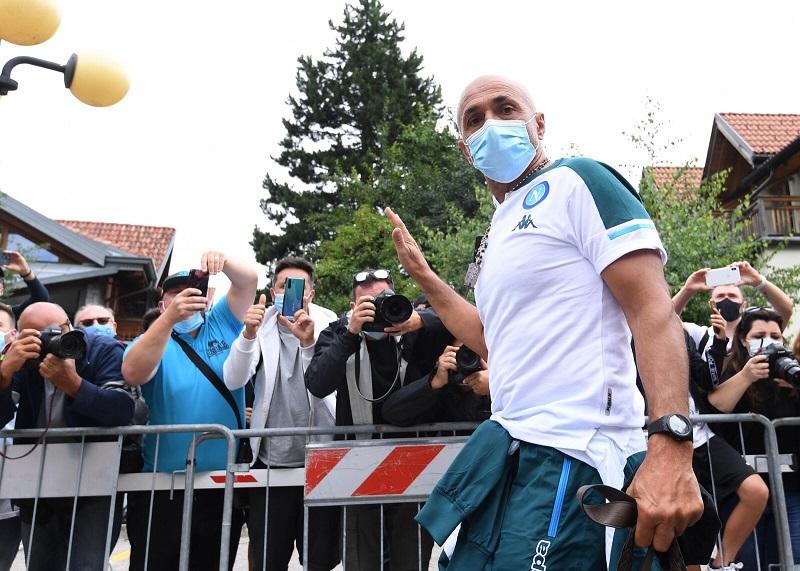 Il Napoli arrivato a Dimaro, via alla stagione 2021-22