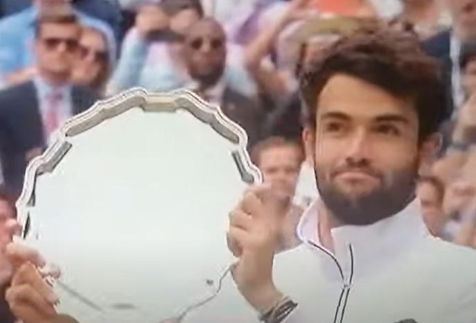 Wimbledon, Berrettini cede con onore