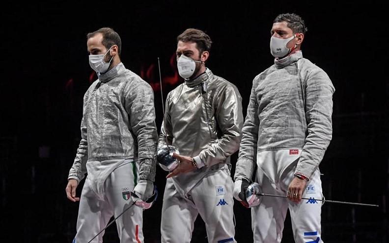 Scherma Olimpiadi, Italia d'argento nella sciabola a squadre